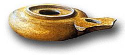 Herodian Period Oil Lamp