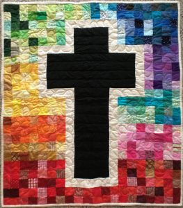 Patchwork of Life Wall Hanging